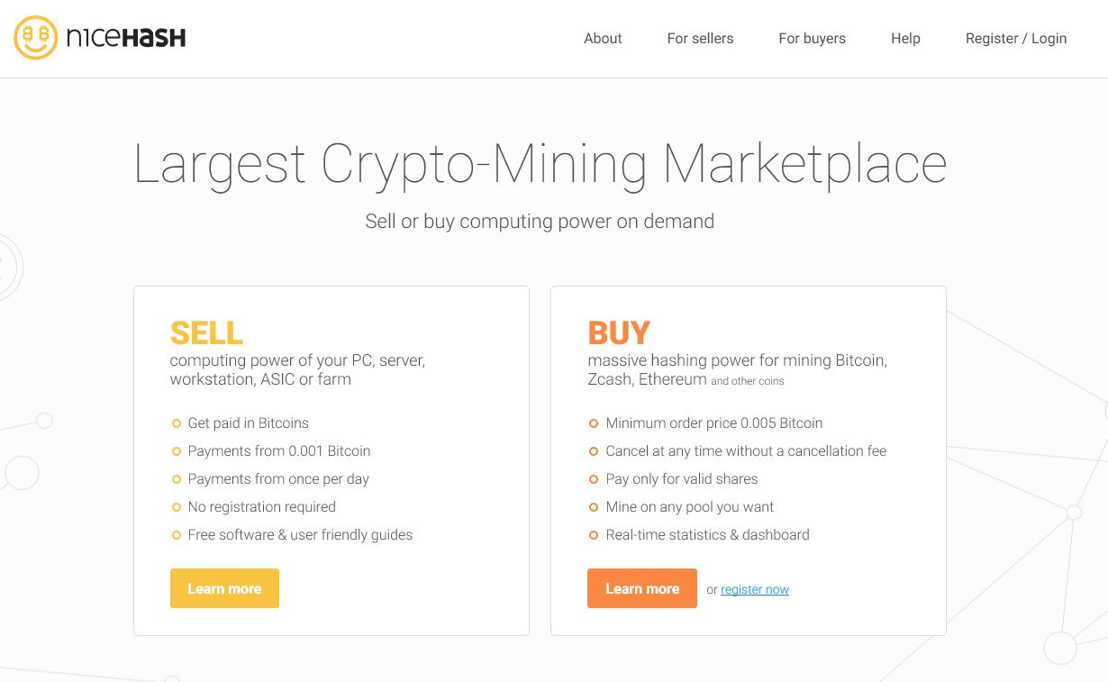 mine highest value cryptocurrency nicehash guide