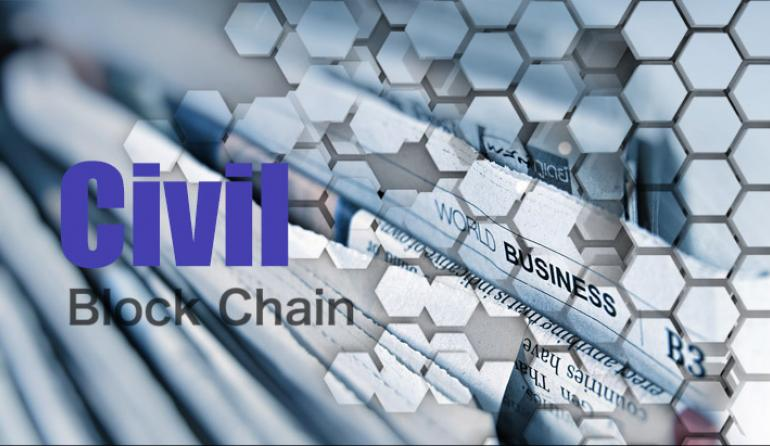 CIVIL CVL Journalism Goes Blockchain