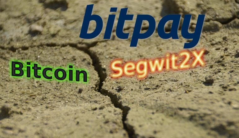 Bitpay: Don't Use Bitcoin Network During The Segwit2X Hard Fork