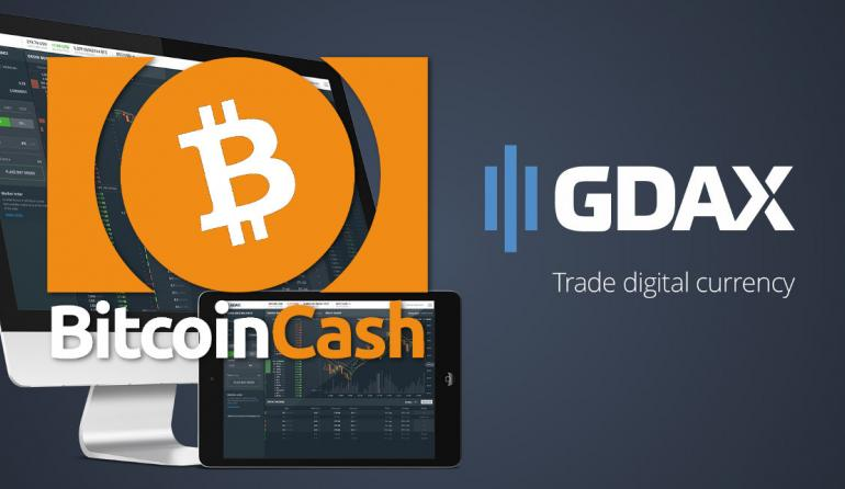 This Is Bitcoin Cash's Day: GDAX Starts BCH Trading, Price Skyrockets