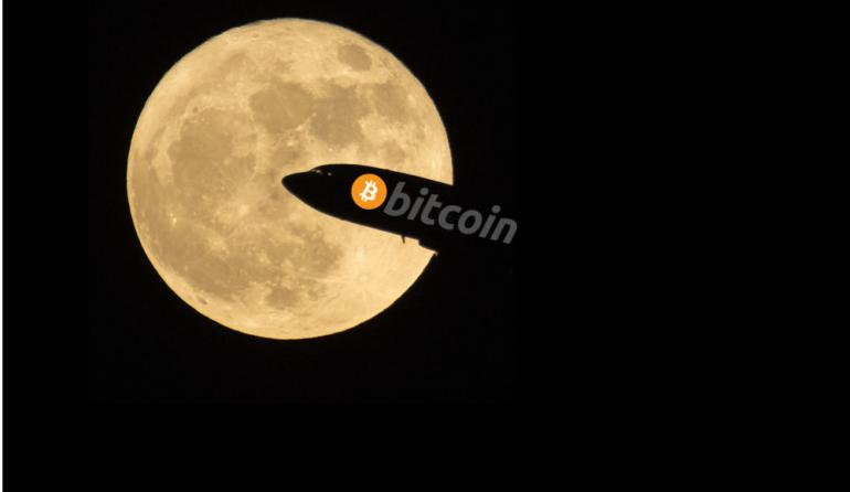 To The Moon: Bitcoin Price Surges Above $14,800, Increased 158% In A Month