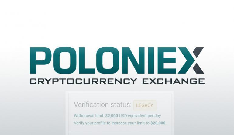 Poloniex Will Disable User Accounts Unless They Are Verified