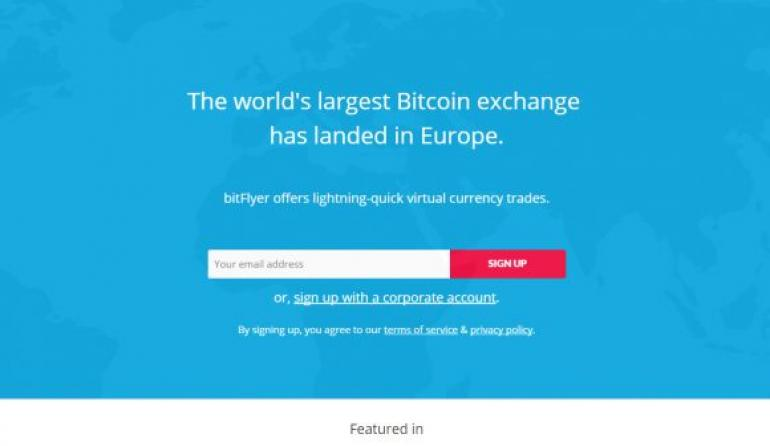 bitFlyer Japan's Largest Exchange Coing to Europe